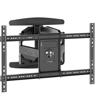 """P6 Dual Arm Wall mount will support up to an 80"""" TV Vesa Pattern"""