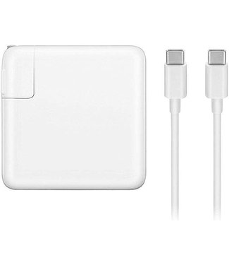 USB-C to USB-C Cable with 61W Wall Block APPLE AUTHENTIC