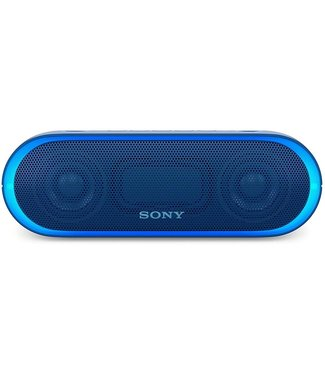sony Sony SRS-XB20 XB20 Portable Wireless Speaker with Bluetooth, Blue
