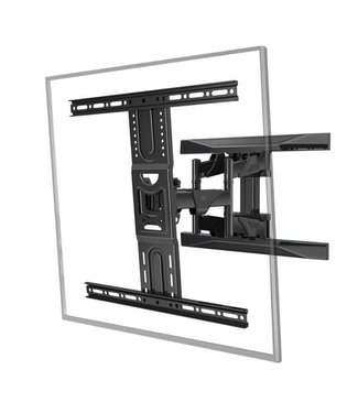 """MDY P6 New Medium Dual Arm Wall Mount will support up to an 75"""" TV Vesa Pattern"""