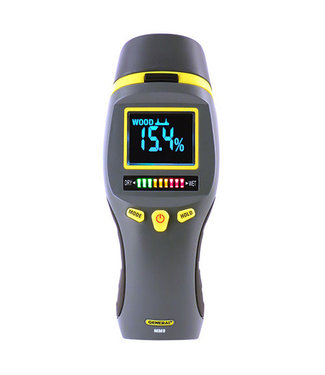 General Tools Combo Pin and Pinless Moisture Meter for Water Damage and Mold Prevention