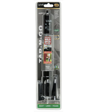 Wright Products Tap-N-Go Black Screen and Storm Door Closer