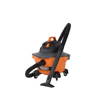 RIDGID 6 Gal. 3.5-Peak HP NXT Wet/Dry Shop Vacuum with Filter, Hose and Accessories