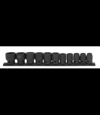 Husky 1/2 in. Drive Standard SAE Impact Socket Set (11-Piece)