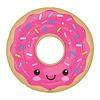 "27"" Donut Supershpe Mylar Balloon"