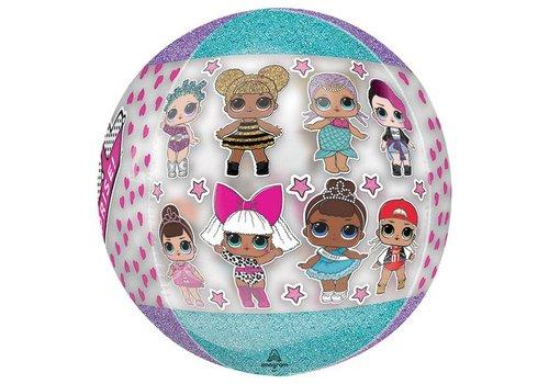 "16""  XL Orbz LOL Surprise Mylar Balloon"