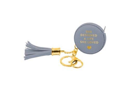 Tape Measurer -keychain