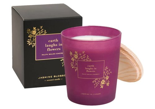 earth laughs in flowers-Candle