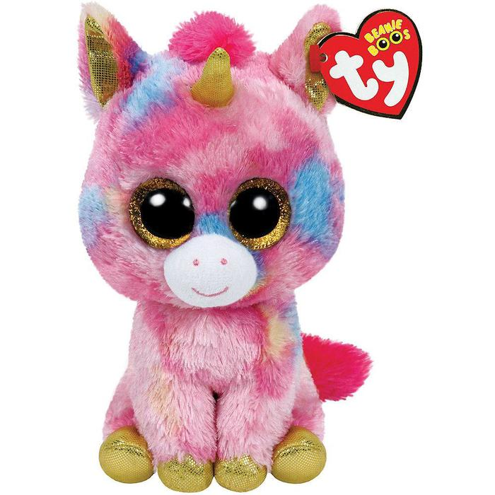 Candy Cane Unicorn Small Beanie Boo