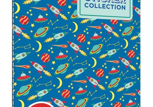 Space Adventures Sticker Book