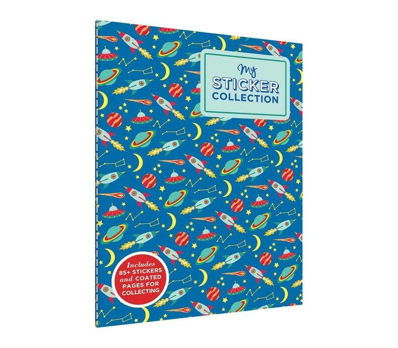 Space Adventures Sticker Book