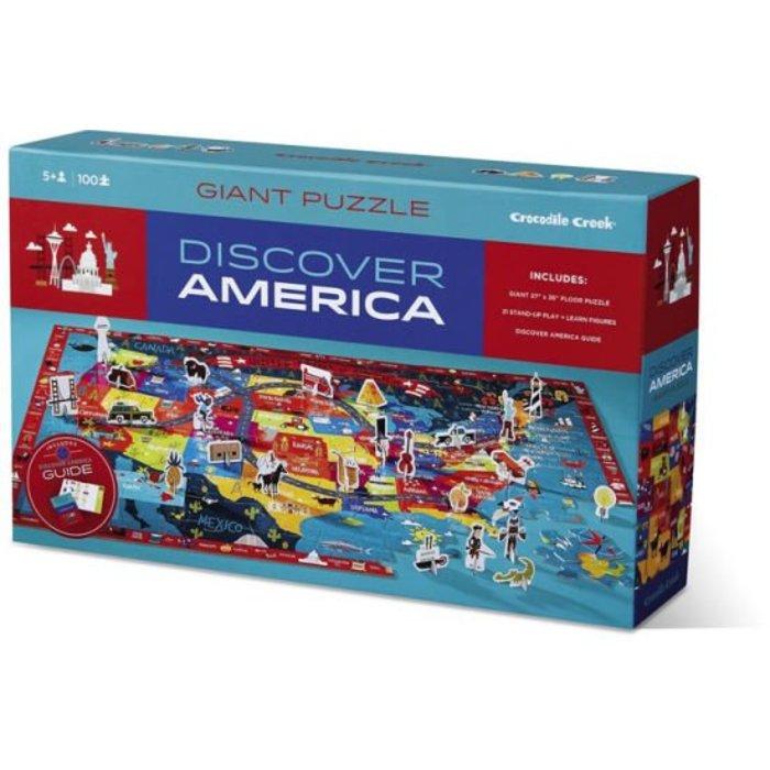 Discover Puzzle/America - 100 PC