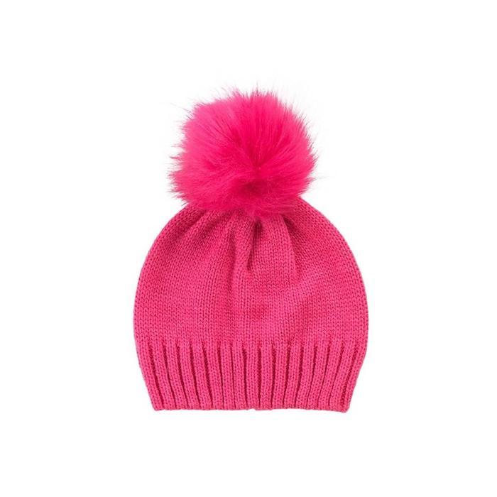 Pom Pom Kids Hat