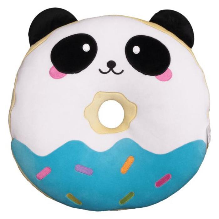 Donut Panda Vanilla Scented Pillow