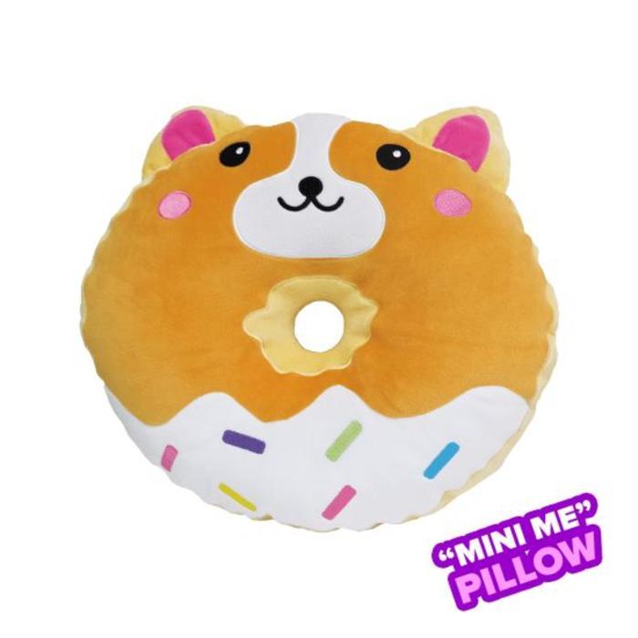 Mini Corgi Donut Vanilla Scented Pillow