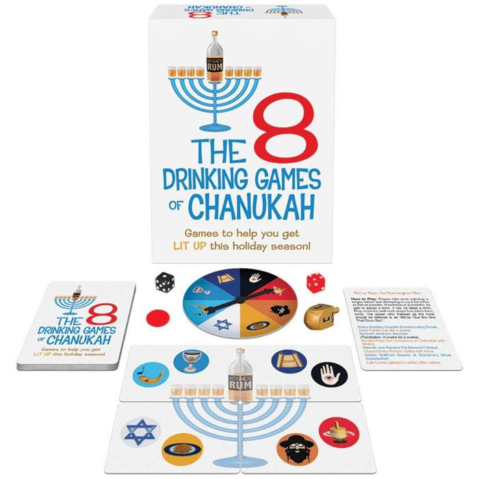 The 8 Drinking Games of Chanukah