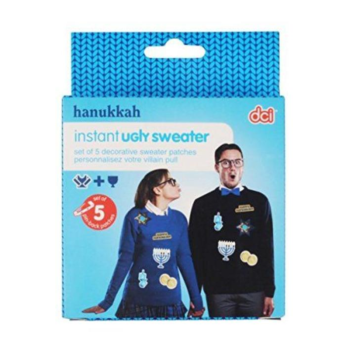Instant Ugly Sweater: Hanukkah