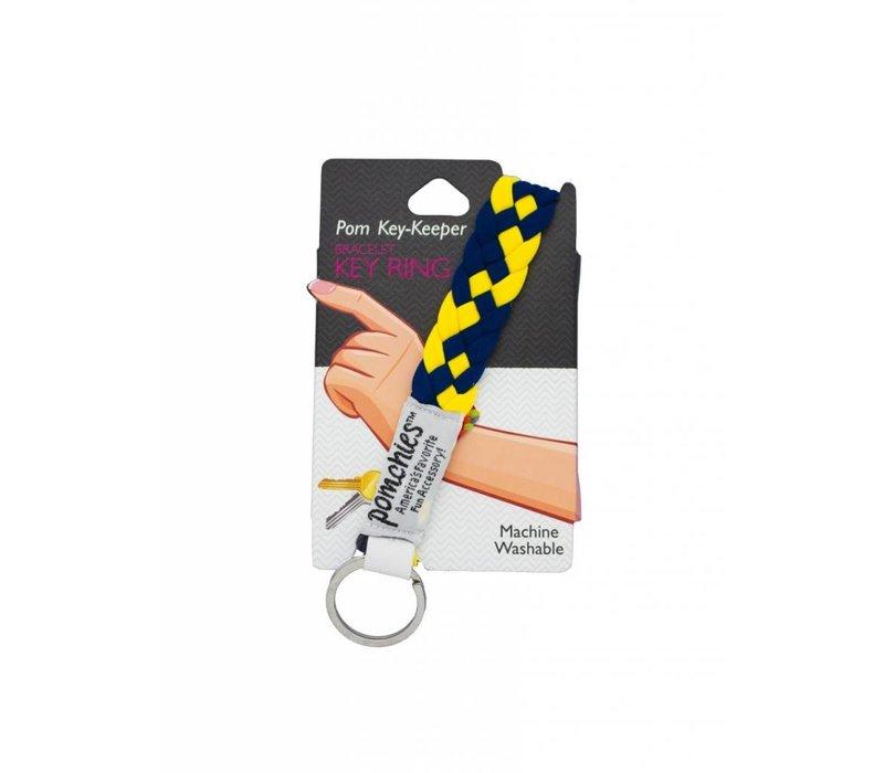 Pomchies College Braided Key Chains