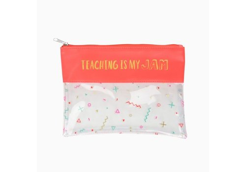 Teaching is My Jam Pouch