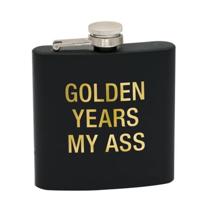 Golden Years Flask