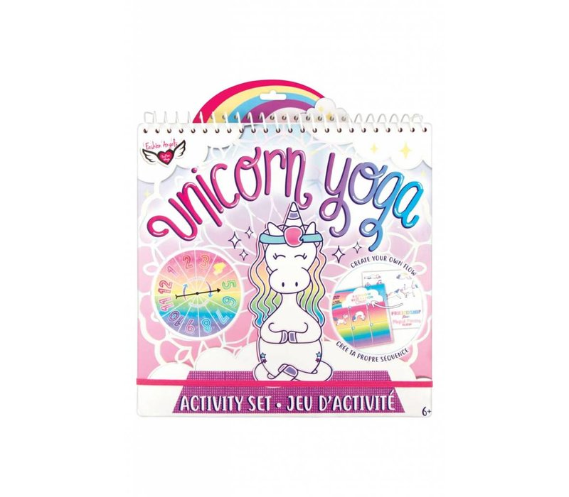 Unicorn Yoga Activity Pad