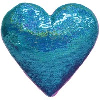 Heart Eyes Reversible Sequin Pillow