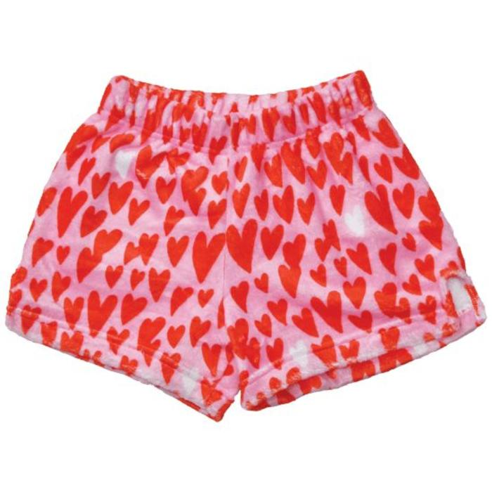 Lovin Hearts Plush Shorts
