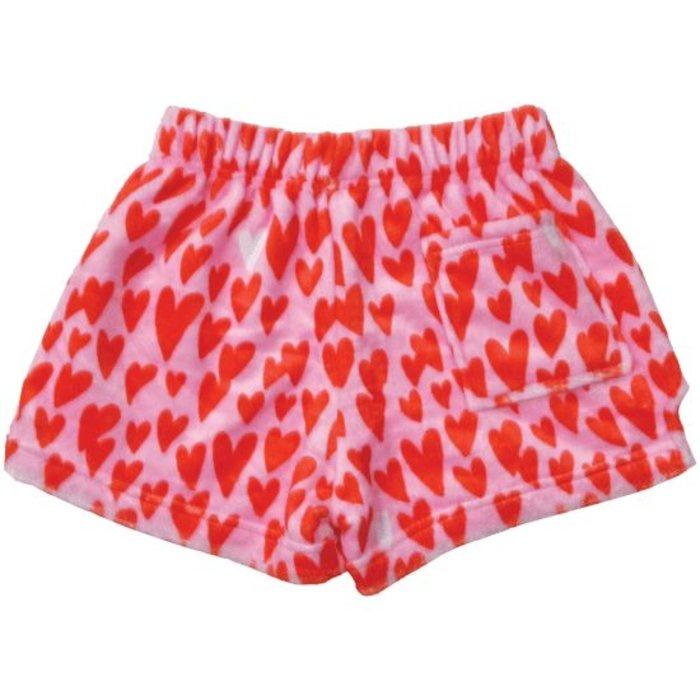 Lovin Hearts Plush Shorts