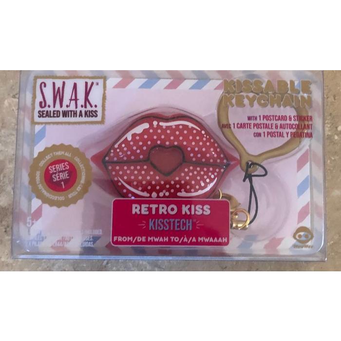 SWAK Kissable Keychain
