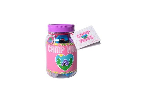 Camp Vibes Mani Pedi Mason Jar Gift Set