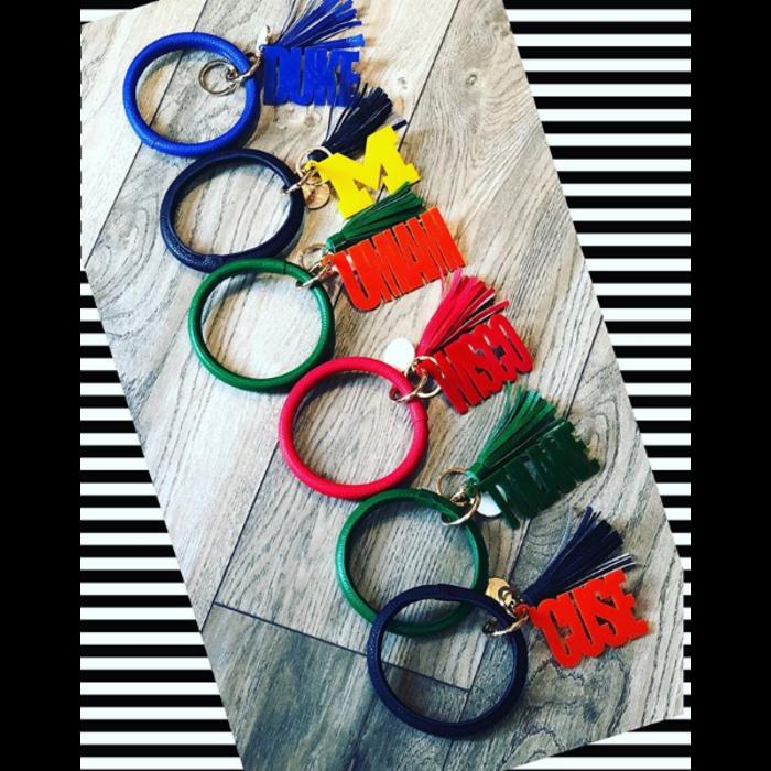 College Acrylic Key Chain