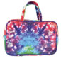 Sequin Tie Dye Large Cosmetic Case