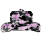 Purple CamoFurry Lounge Pillow