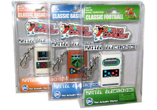 Worlds Coolest Mattel Electronic Games-Assortment Football