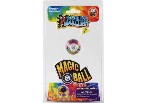 Worlds Smallest Magic 8 Ball-TIE DYE