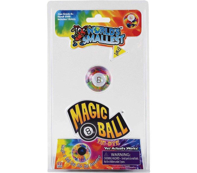 Worlds Smallest Magic 8 Ball-TIE DYE