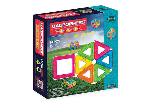 Magformers Neon 14pc Set
