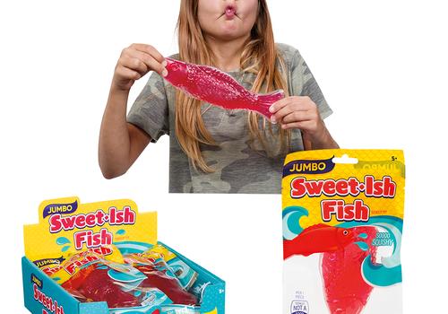 Jumbo Sweet-Ish Fish