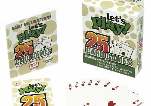 Lets Play 25 Games - Cards