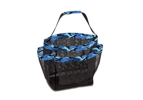 Shower Caddy Blue Camo