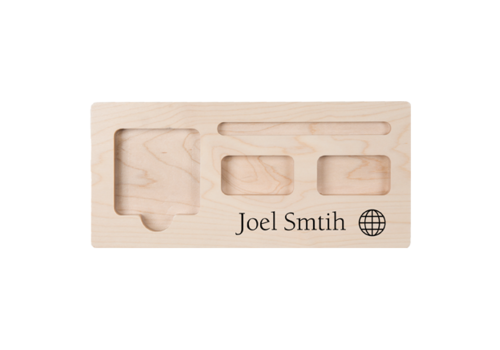 Engravable Desk Organizer