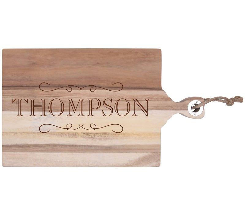 Personalized Acacia Cutting Board 18 x 10.5