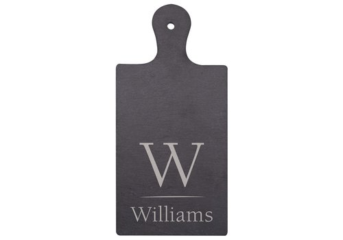 "Engravable Slate Serving Board 6""x 4"""