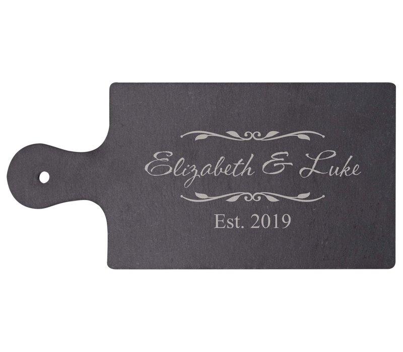 "Engravable Slate Serving Board 6""x 4"""