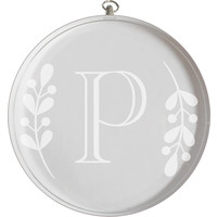 Engravable Crystal Ornament