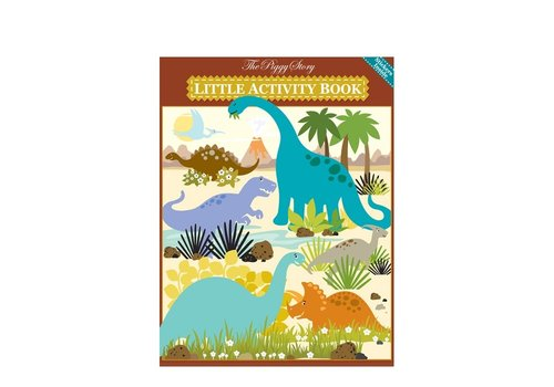 Little Activity Book - Dinosaur World