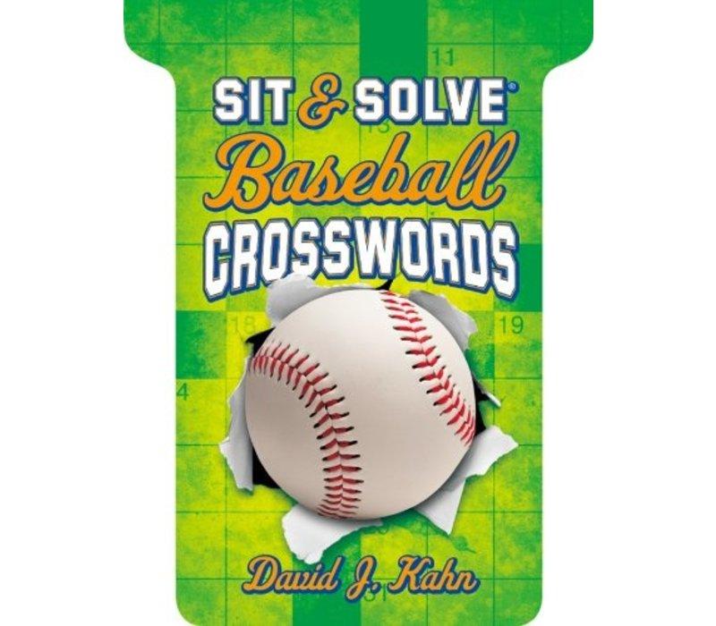 Sit & Solve Baseball Crosswords