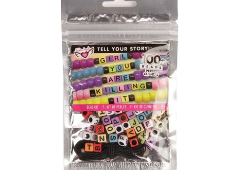 Fashion Angels Tell Your Story Rainbow Alphabet Beads