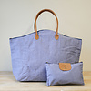 Chambray Weekender Bag