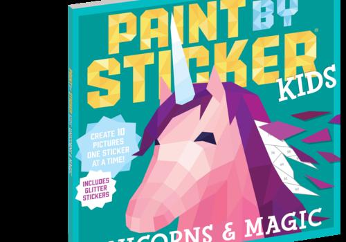Paint by Sticker Kids Unicorn & Kids